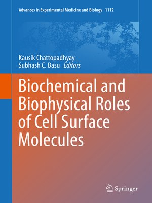 cover image of Biochemical and Biophysical Roles of Cell Surface Molecules