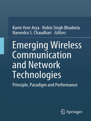 cover image of Emerging Wireless Communication and Network Technologies
