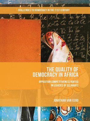 cover image of The Quality of Democracy in Africa