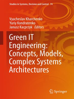 cover image of Green IT Engineering