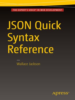 cover image of JSON Quick Syntax Reference