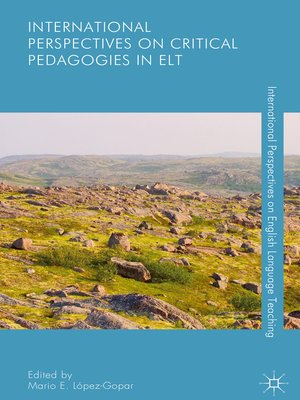 cover image of International Perspectives on Critical Pedagogies in ELT