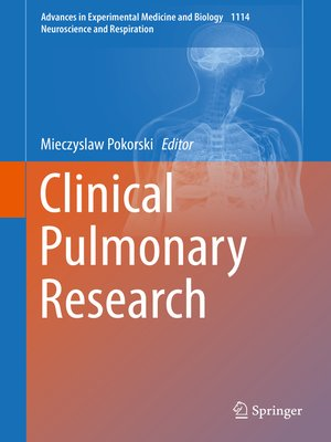cover image of Clinical Pulmonary Research