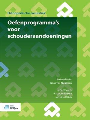 cover image of Oefenprogramma's voor schouderaandoeningen