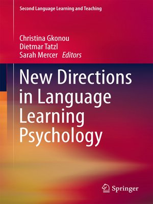 cover image of New Directions in Language Learning Psychology
