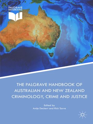 cover image of The Palgrave Handbook of Australian and New Zealand Criminology, Crime and Justice