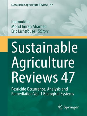 cover image of Sustainable Agriculture Reviews 47