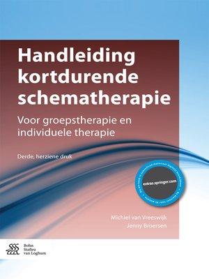 cover image of Handleiding kortdurende schematherapie