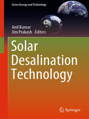 cover image of Solar Desalination Technology