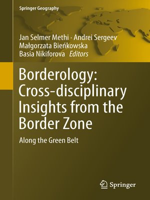 cover image of Borderology