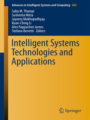 cover image of Intelligent Systems Technologies and Applications