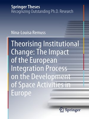 cover image of Theorising Institutional Change