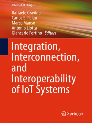 cover image of Integration, Interconnection, and Interoperability of IoT Systems