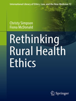 cover image of Rethinking Rural Health Ethics