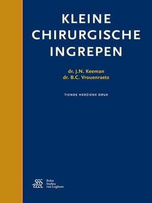 cover image of Kleine chirurgische ingrepen