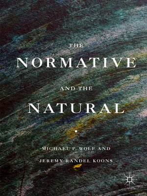 cover image of The Normative and the Natural