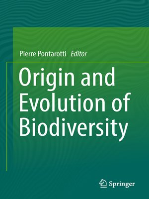 cover image of Origin and Evolution of Biodiversity