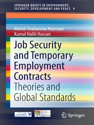 cover image of Job Security and Temporary Employment Contracts