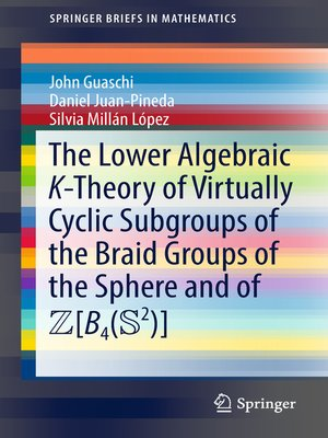 cover image of The Lower Algebraic K-Theory of Virtually Cyclic Subgroups of the Braid Groups of the Sphere and of ZB4(S2)
