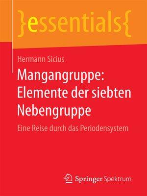 cover image of Mangangruppe