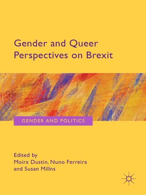 cover image of Gender and Queer Perspectives on Brexit