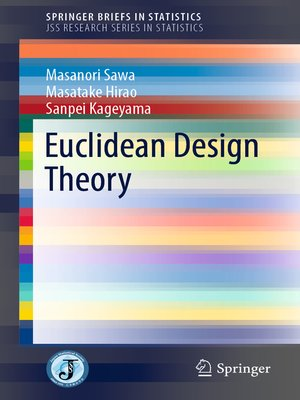 cover image of Euclidean Design Theory