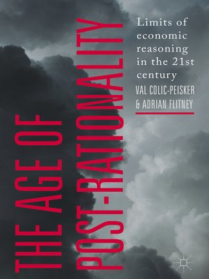cover image of The Age of Post-Rationality