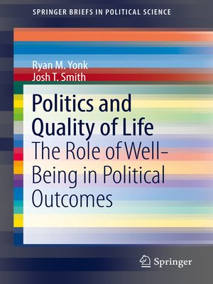 cover image of Politics and Quality of Life