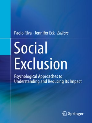 cover image of Social Exclusion