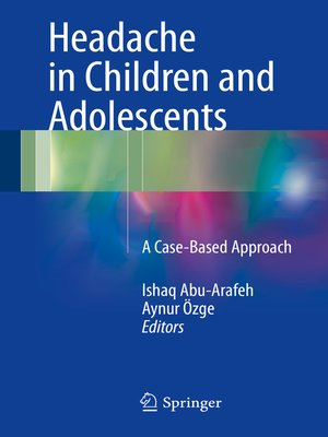 cover image of Headache in Children and Adolescents