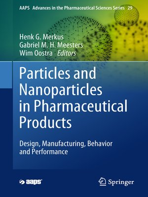cover image of Particles and Nanoparticles in Pharmaceutical Products