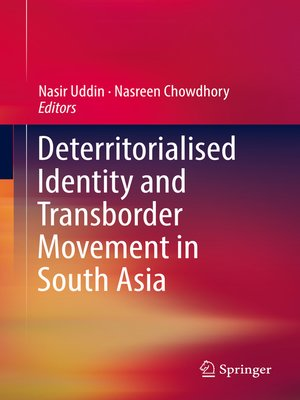 cover image of Deterritorialised Identity and Transborder Movement in South Asia