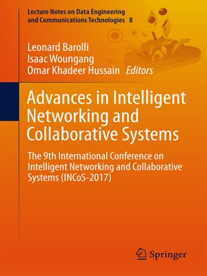cover image of Advances in Intelligent Networking and Collaborative Systems