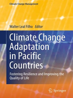 cover image of Climate Change Adaptation in Pacific Countries