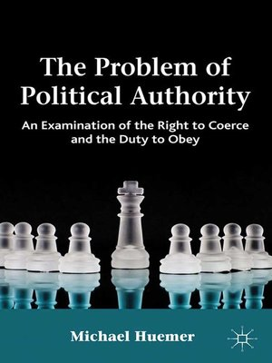 cover image of The Problem of Political Authority