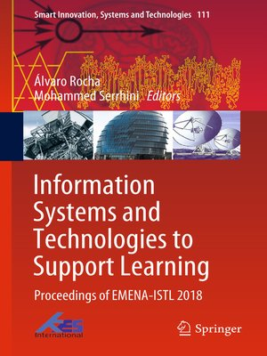 cover image of Information Systems and Technologies to Support Learning