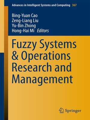 cover image of Fuzzy Systems & Operations Research and Management