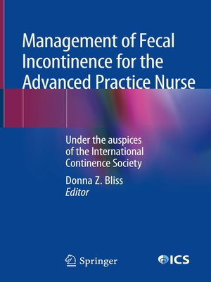 cover image of Management of Fecal Incontinence for the Advanced Practice Nurse