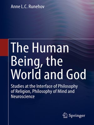 cover image of The Human Being, the World and God