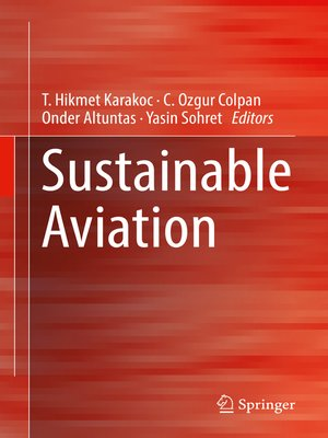 cover image of Sustainable Aviation