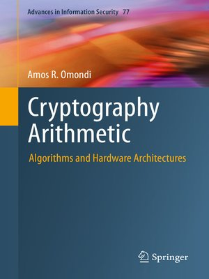 cover image of Cryptography Arithmetic