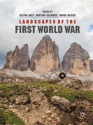 cover image of Landscapes of the First World War