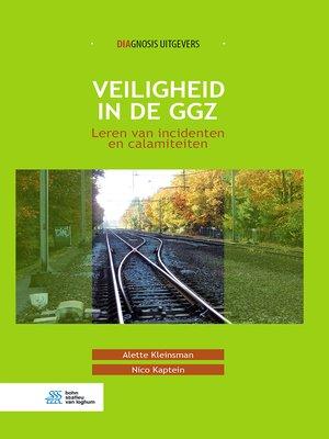 cover image of Veiligheid in de ggz