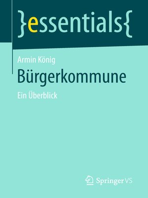 cover image of Bürgerkommune