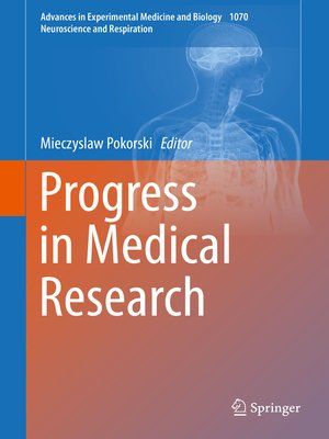 cover image of Progress in Medical Research