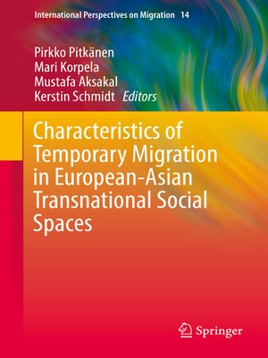 cover image of Characteristics of Temporary Migration in European-Asian Transnational Social Spaces