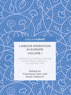 cover image of Labour Migration in Europe Volume I