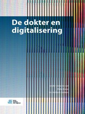 cover image of De dokter en digitalisering