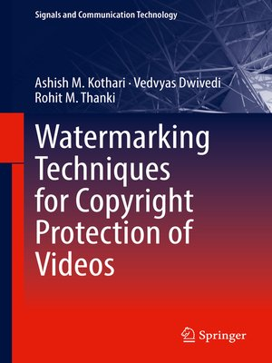 cover image of Watermarking Techniques for Copyright Protection of Videos