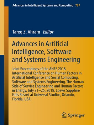 cover image of Advances in Artificial Intelligence, Software and Systems Engineering
